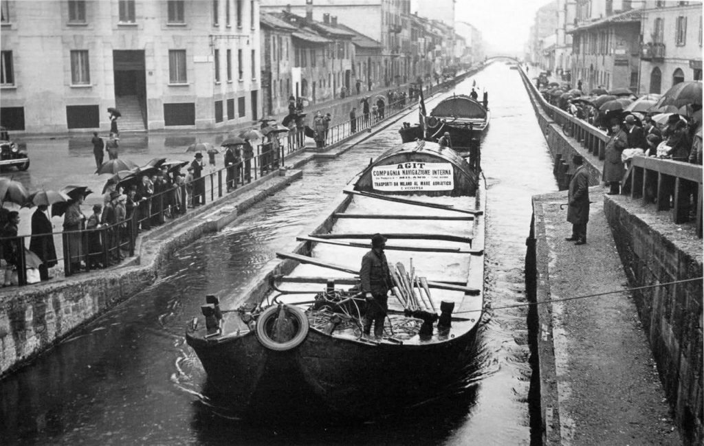 Naviglio Pavese 1950