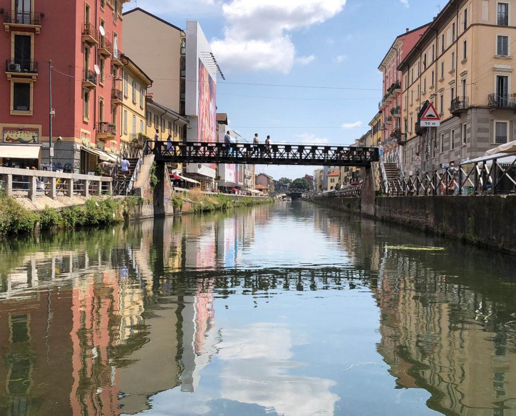 Ponte di ferro Milano navigli