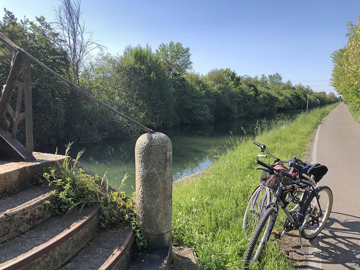 Biciclettata sui Navigli