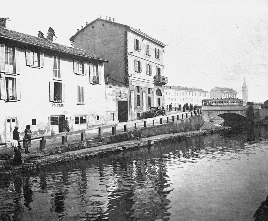 Naviglio Grande e ponte dello scodellino