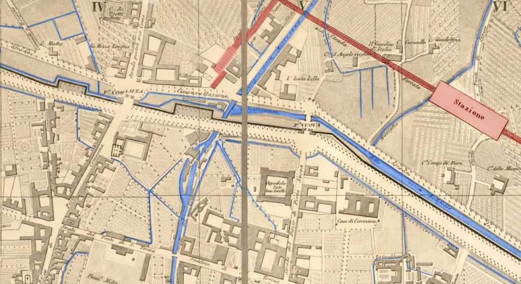 Mappa Tombone di San Marco 1860