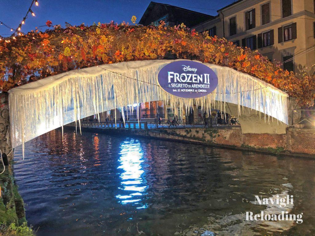 """Ponte di Alda Merini utilizzato per promuovere il film in uscita """"Frozen 2"""""""