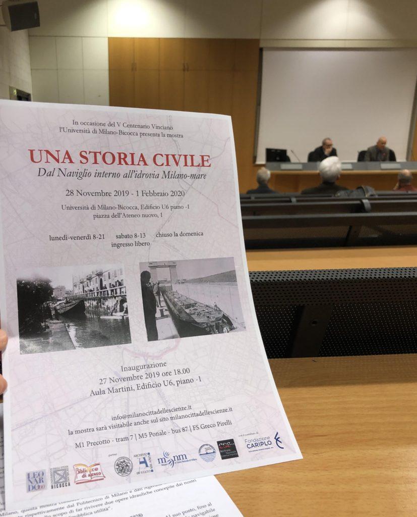 """""""Una storia civile. Dal Naviglio interno all'idrovia Milano-mare"""""""